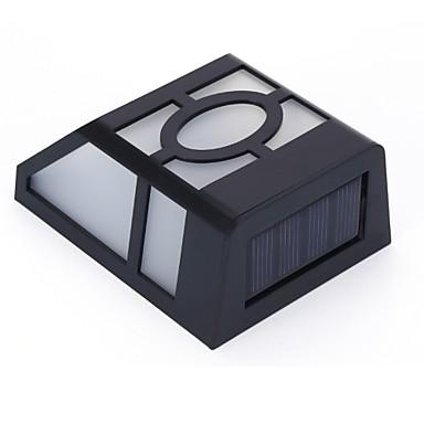 태양 벽 램프 2 야외 방수 정원 통로 계단 태양 전원 램프 빛을 주도