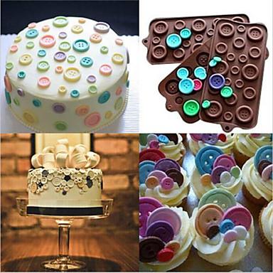 Díszítő eszköz Csokoládé Keksz Torta Szilikon Születésnap Jó minőség