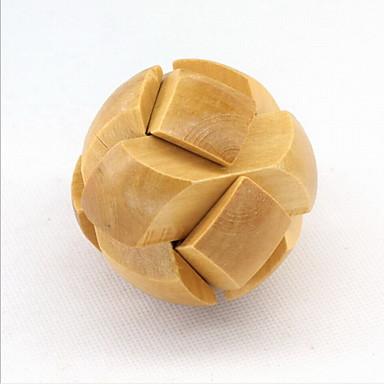 fashion houten puzzel unlock loop decompressie speelgoed