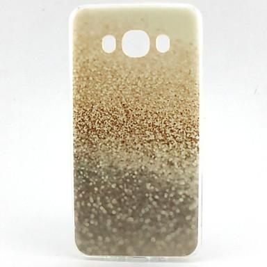 Para Samsung Galaxy Capinhas Estampada Capinha Capa Traseira Capinha Brilho com Glitter TPU Samsung J7 / J5 (2016) / J1