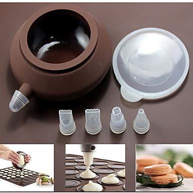 Ferramenta de decoração Chocolate Biscoito Bolo Plástico Amiga-do-Ambiente Alta qualidade