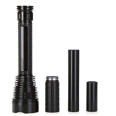 5 LED Fenerler Avuçiçi Fenerleri LED 8000 Lümen 5 Kip Cree XM-L2 T6 Piller dahil değildir Şarj Edilebilir Su Geçirmez için
