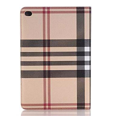 hq ultravékony luxus rács bőr tok iPad mini 4 Smart Cover Apple iPad mini4 7,9 hüvelykes táblagép