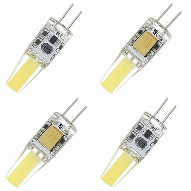 SENCART 4pcs 1.5W 3000-3500/6000-6500 lm G4 LED Corn Lights T 4 leds Integrate LED Decorative Warm White Cold White AC 12V DC 12V