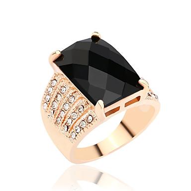 Női Vallomás gyűrűk Divat elegáns luxus ékszer Szintetikus drágakövek Hamis gyémánt Ötvözet Ékszerek Kompatibilitás Parti Napi Hétköznapi