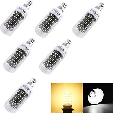 e14 e26 / e27 led corn világítás t 56 smd 4014 280lm meleg fehér hideg fehér 3000k / 6000k dekoratív ac 220-240 ac 110-130v