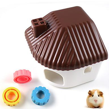 Hamster Portatif Çok-fonksiyonlu Cosplay Yataklar Kahve Mavi Pembe