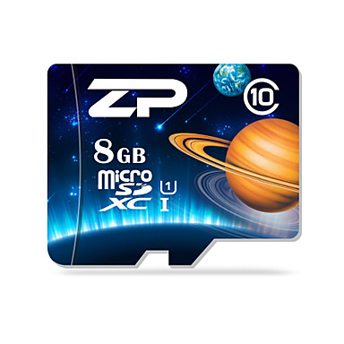 ZP 8 GB Micro SD kártya TF kártya Memóriakártya UHS-I U1 Class10