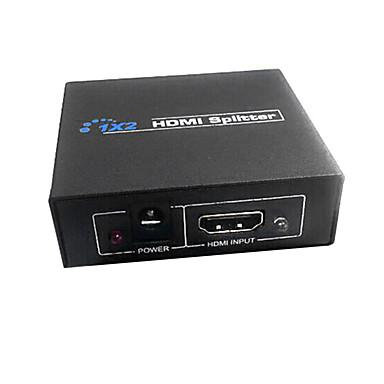 billige Kabler og adaptere-HDMI v1.3 1x2 HDMI Splitter (1: 2 ud) at støtte 3d 1080p