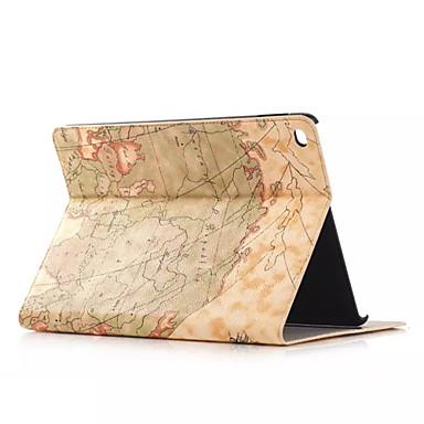 케이스 제품 iPad Air 스탠드 자동 슬립 / 웨이크 기능 전체 바디 케이스 시티 뷰 PU 가죽 용 iPad Air