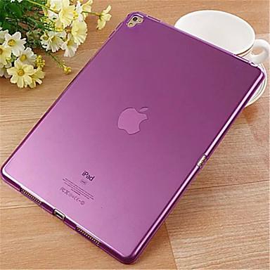 Case Kompatibilitás Átlátszó Fekete tok Tömör szín TPU mert iPad Pro 9.7 ''