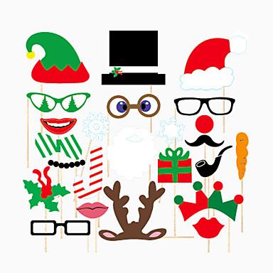 크리스마스 / 특별한 때 하드 카드 용지 PE 웨딩 장식 휴일 / 클래식 테마 봄, 가을, 겨울, 여름