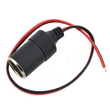 jtron DIY 12 ~ 24V 자동차 담배 라이터 충전기 - (검은 색&빨간)
