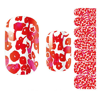 1pcs 3D-s körömáblák Köröm pecsételő sablon Napi Virág Rajzfilmfigura Divat Szeretetreméltő Jó minőség