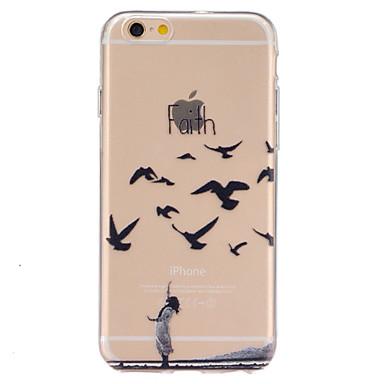 Mert iPhone 6 tok tokok Other Hátlap Case Other Puha TPU mert Apple