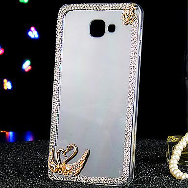 제품 삼성 갤럭시 케이스 케이스 커버 크리스탈 투명 뒷면 커버 케이스 동물 아크릴 용 Samsung Galaxy A9