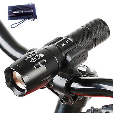 ieftine lanterne-A100 Lanterne LED 1000 lm LED Cree® T6 1 emițători 5 Mod Zbor Tactic Rezistent la apă Zoomable Camping / Cățărare / Speologie Utilizare Zilnică Polițist / Militar / Aliaj de Aluminiu