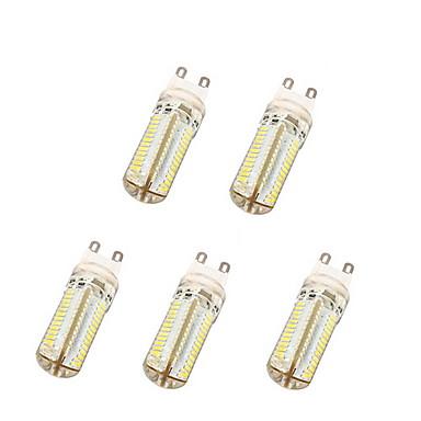 G9 LED-maïslampen T 104 leds SMD 3014 Warm wit Koel wit 600lm 3500/6000K AC 220-240V