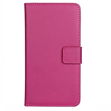 케이스 제품 LG LG케이스 카드 홀더 지갑 스탠드 플립 전체 바디 케이스 한 색상 하드 PU 가죽 용