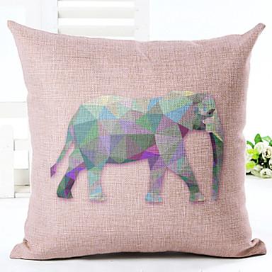 Novelty Animals Pattern Linen Pillowcase Sofa Home Decor