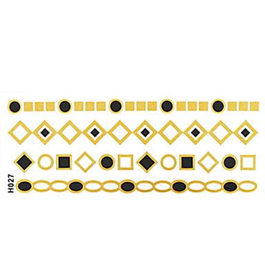#(1) Μοτίβο Σειρά Κοσμημάτων Αυτοκόλλητα Τατουάζ
