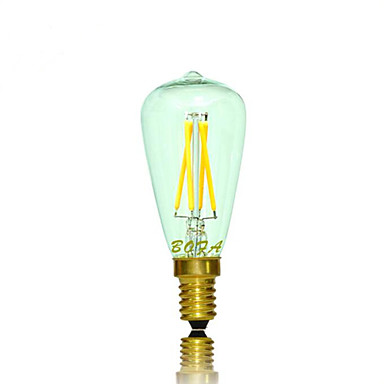 1db 2.5 W 2200/2700 lm E14 LED gömbbúrás izzók Cső 4 LED gyöngyök COB Tompítható / Dekoratív Meleg fehér 220-240 V / 110-130 V