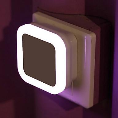 1 piesă Wall Plug Nightlight Senzor 220 V