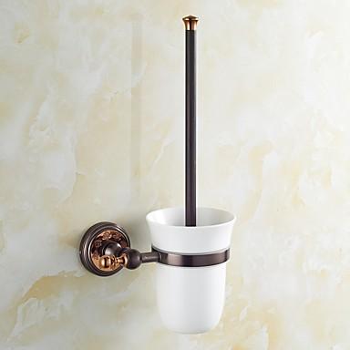 화장실 브러쉬 홀더 네오클래식 놋쇠 1개 - 호텔 목욕