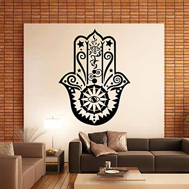 Fashion History Shapes Words & Quotes Vintage Wall Stickers