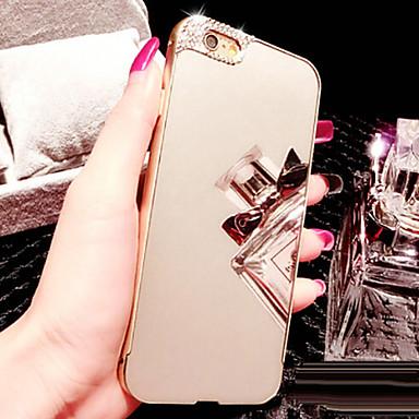 용 아이폰6케이스 아이폰6플러스 케이스 케이스 커버 크리스탈 도금 거울 뒷면 커버 케이스 단색 하드 아크릴 용 iPhone 6s Plus iPhone 6 Plus iPhone 6s 아이폰 6
