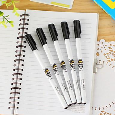 עט עֵט עטי ג'ל עֵט, פלסטי שחור צבעי דיו For ציוד בית ספר ציוד משרדי חבילה של