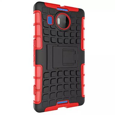 hibrid ütésállóság páncél masszív esetben állvány fedezetet Nokia Lumia 950 tok Nokia 950 esetben