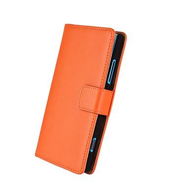 Coque Pour Autre Nokia Coque Nokia Porte Carte Portefeuille Avec Support Coque Intégrale Couleur unie Dur faux cuir pour