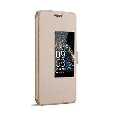 Case Kompatibilitás Huawei Honor 6 Huawei Huawei P7 Huawei tok Állvánnyal Betekintő ablakkal Automatikus készenlét / ébresztés Flip Héjtok