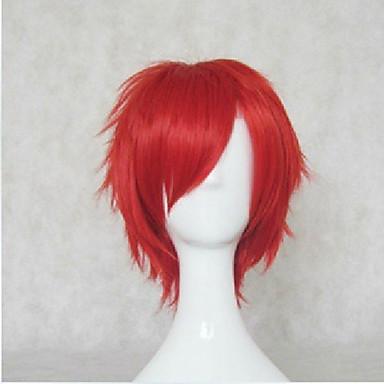 Συνθετικές Περούκες Σγουρά Πυκνότητα Χωρίς κάλυμμα Γυναικεία Καρναβάλι περούκα Απόκριες Περούκα Κοντό Συνθετικά μαλλιά