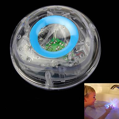 LED világítás Labdák Light Up Játékok Bath Light Vízi játék Játékok Világítás PVC Gyermek 1 Darabok