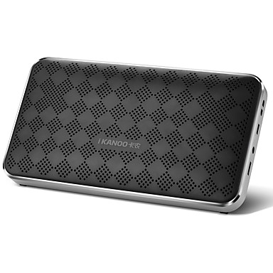 Otthoni Bluetooth Hordozható Bluetooth 4.0 3.5mm AUX USB Polchangfalak Fehér Fekete Kék