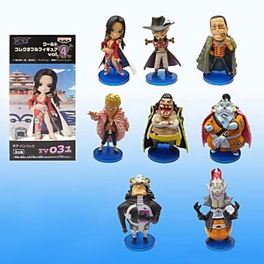 Anime Akciófigurák Ihlette One Piece Szerepjáték PVC 8 CM Modell játékok Doll Toy