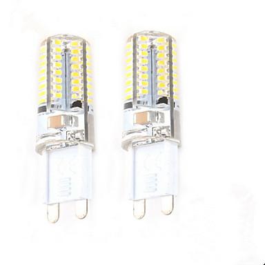 2pcs 2,5 W 50-100 lm G9 LED Φώτα με 2 pin C35 64 leds SMD 3014 Διακοσμητικό Θερμό Λευκό AC 220-240V
