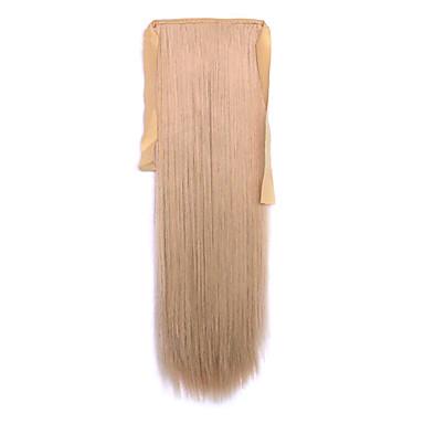 len hossz 60cm szintetikus kötődnek típusú hosszú egyenes haj paróka zsurló (szín 22)
