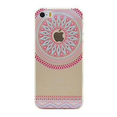 Mert iPhone 6 tok / iPhone 6 Plus tok Átlátszó / Minta Case Hátlap Case Apple logo Puha TPU Apple iPhone 6s Plus/6 Plus / iPhone 6s/6