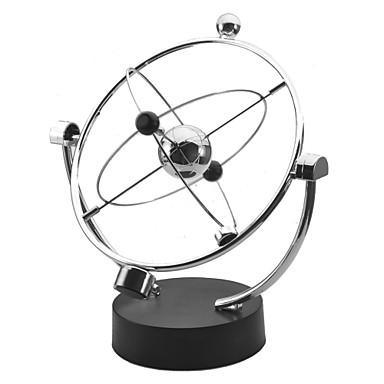 Kinetik Orbitaller Newton Beşik Balansı Topları Ofis Masası Oyuncakları Metalik Genç Kız Hediye 1pcs