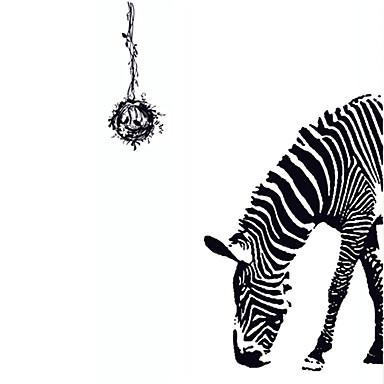 데코레이티브 월 스티커 - 플레인 월스티커 동물 / 정물 / 패션 거실 / 침실 / 다이닝룸 / 이동가능