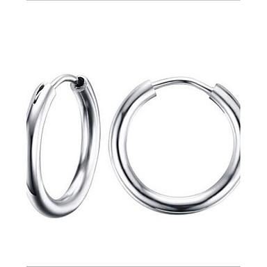 여성 링 귀걸이 패션 의상 보석 스테인레스 Circle Shape 보석류 제품 파티 일상 캐쥬얼