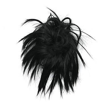 가발 클래식 고품질 블랙 일상