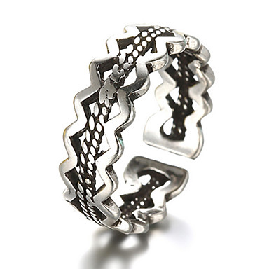 Midi gyűrűk Karikagyűrűk Ezüst utánzat Diamond Divat Állítható Ezüst Ékszerek Napi Hétköznapi 1db