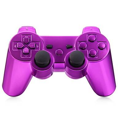 olcso PS3 vezeték nélküli kontrollerek-Vezeték nélküli játékvezérlő Kompatibilitás Sony PS3 ,  Bluetooth / Játék kar / Újratölthető játékvezérlő ABS 1 pcs egység