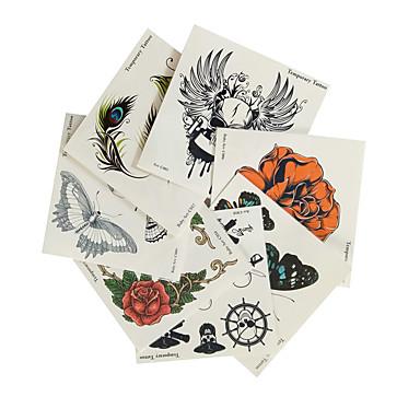 7PCS 차이 스타일의 할로윈 방수 문신 스티커