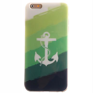 용 아이폰6케이스 아이폰6플러스 케이스 케이스 커버 IMD 뒷면 커버 케이스 돛대 소프트 TPU 용 Apple iPhone 6s Plus iPhone 6 Plus iPhone 6s 아이폰 6