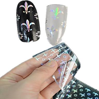 1 Nail Art matrica Körömfestés tippek Absztrakt Rajzfilmfigura Szeretetreméltő Esküvő smink Kozmetika Nail Art Design